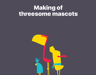 Threesome mascots