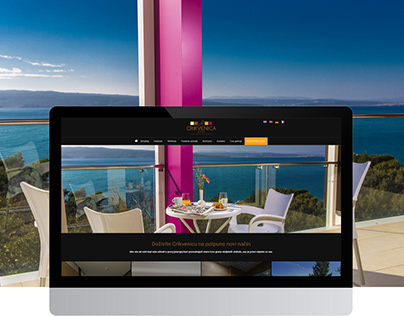 Hotel Crikvenica - web design