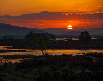 Sunrise in the Highlands