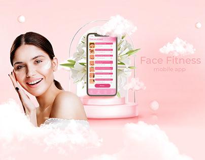 """""""Face Fitness"""" mobile app. Мобильное приложение"""