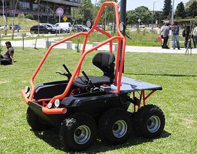MORO: Vehiculo utilitario 6x6