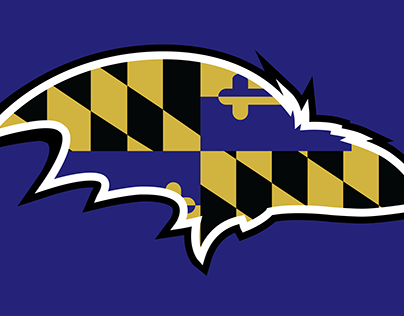 Baltimore Ravens - MD Flag