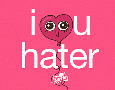I love hater - Sprite