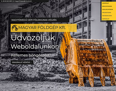 Microsite - Webdesign - HTML5, CSS