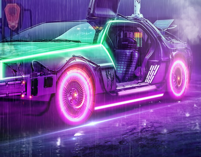 BACK TO THE FUTURE CAR CONCEPT