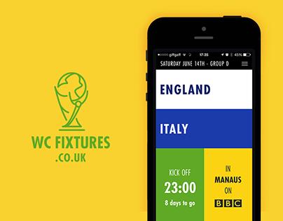 WC Fixtures | Brazil 2014