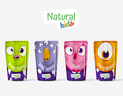 Natural Kids | Opakowanie pouch