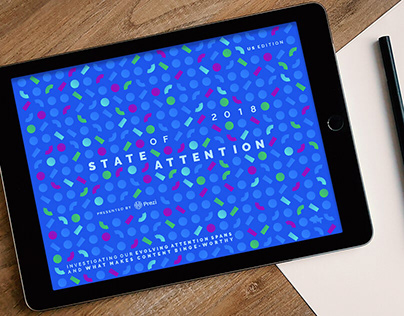 State of Attention 2018 Ebook Design