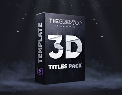 3D TITLES PACK