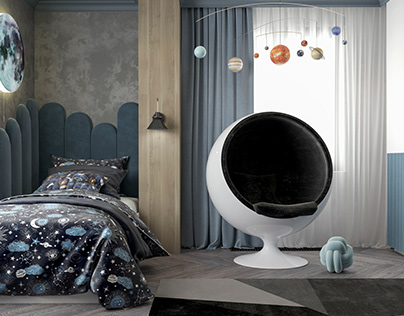 Kids room #2 Interior design