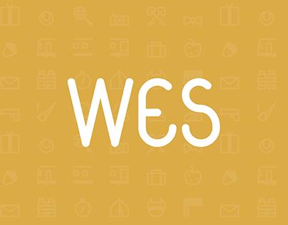 WES - typography