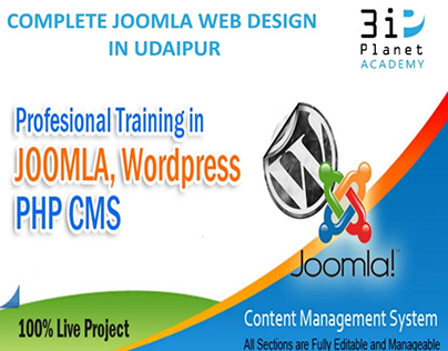 Joomla Website Development Service In Udaipur | Joomla