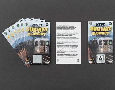NYPD Subway Blowout