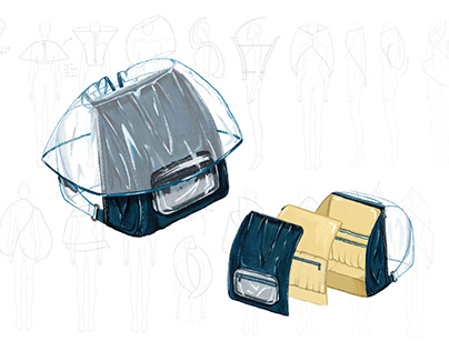 Bag Design for protection and distancing