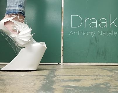 Draak. Haute Couture Concept Shoe for Iris Van Herpen