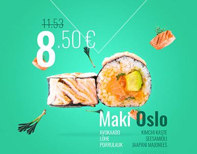 Sushi Guru food ad