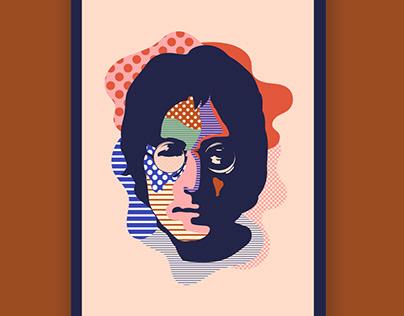 John Lennon Portrait / Personal Work