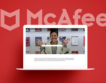 McAfee Careers Website