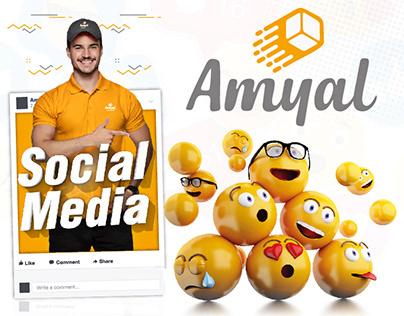 Amyal Express Social Media
