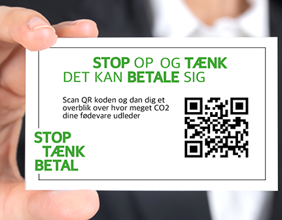business card for consumers