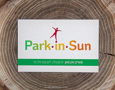Park-In-Sun branding