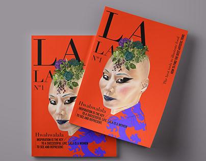 Fashion magazine cover concept