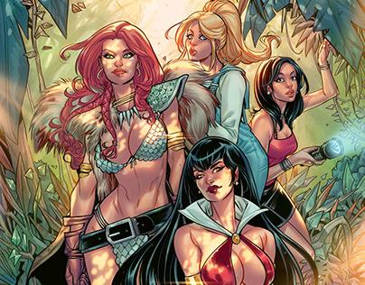 Red Sonja & Vampirella meet Betty & Veronica issue #4