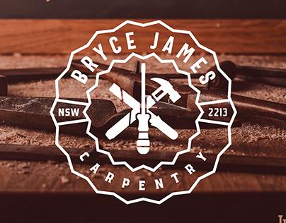 Bryce James Carpentry | Logo Design