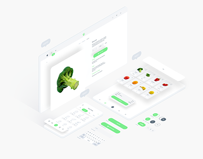 Fresh Food UI Kit for Adobe XD