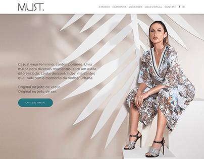 Website Must Verão 2019
