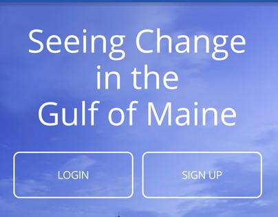 Gulf of Maine App Design/UX