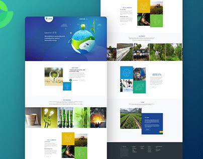 Aakash Green - Website UI UX Visual Design