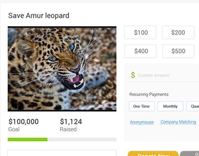 Donation UI