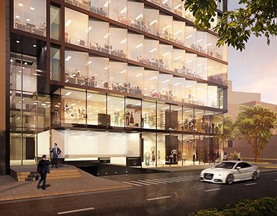 Edificio de oficinas en Lima