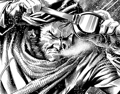 Ink Samples - Wolverine - Pencils: Felipe Massafera