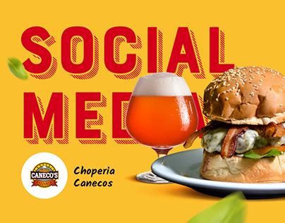 Social Media - Choperia Caneco's