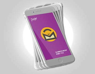 FREE ANIMATED IPHONE 7 MOCKUP