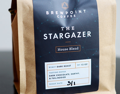 Brewpoint Coffee Packaging
