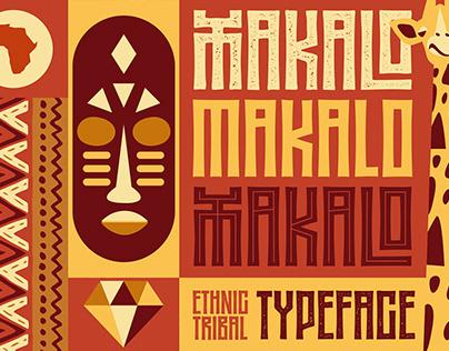MAKALO - Ethnic Tribal Fonts