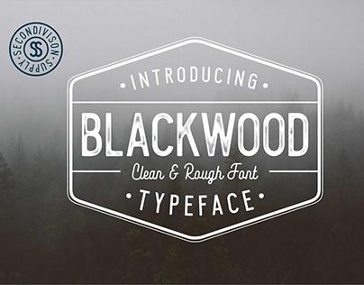 Blackwoon Typeface