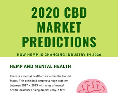 2020 CBD Market Predictions | Mark Bryers