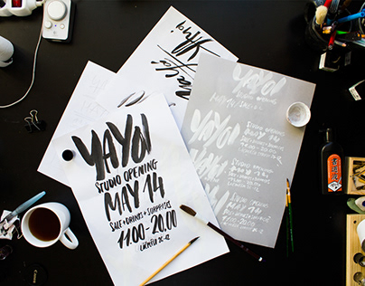 YAYOI poster design