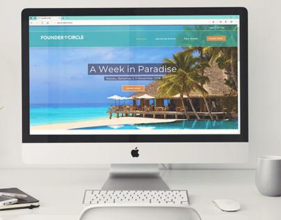 FounderCircle.Biz Website Redesign