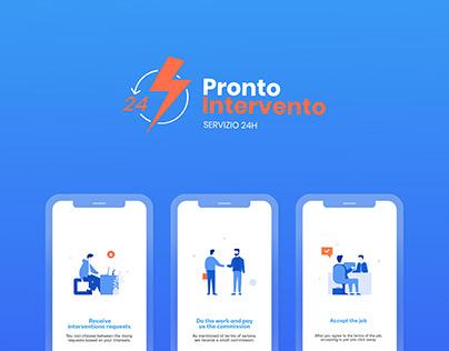 Pronto Intervento 24 - Mobile App