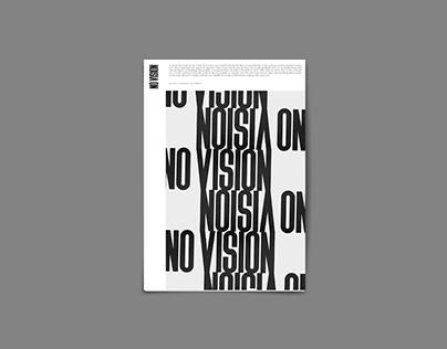 No Vision Zine