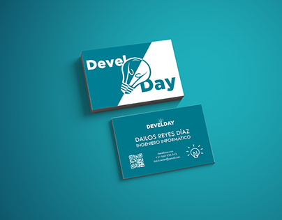 Devel Day Contact card