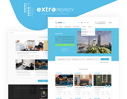 Extra Property Real Estate Web Design/Development