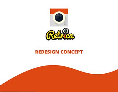 Retrica (Redesign Concept)