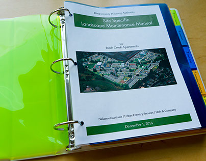 King County Housing Authority Maintenance Manual