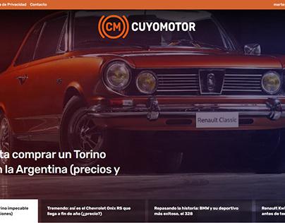 Rediseño Magazine Web - Cuyomotor, Argentina